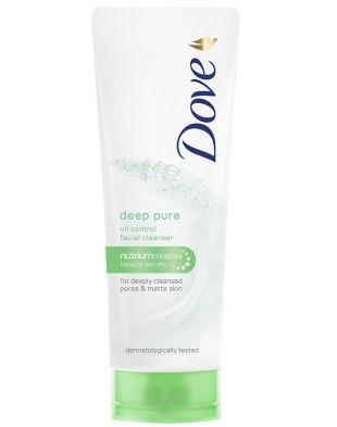 Dove Deep Pure Oil Control Facial Cleanser