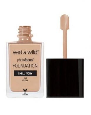 Wet n Wild Photo Focus Foundation Shell Ivory