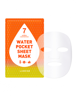 Laneige Water Pocket Sheet Mask Clear C (Skin Purifying)