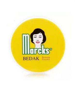Marcks Bedak Beauty Powder Creme