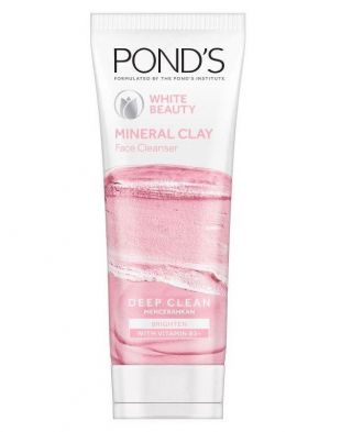 Pond's White Beauty Mineral Clay Face Cleanser