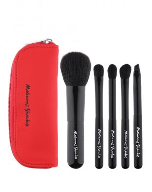 Masami Shouko Travel Brush Set Red