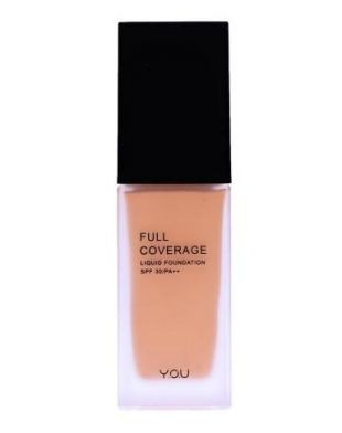 Y.O.U Makeups Full Coverage Liquid Foundation Beige