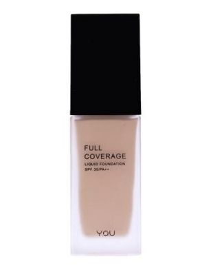 Y.O.U Makeups Full Coverage Liquid Foundation Natural