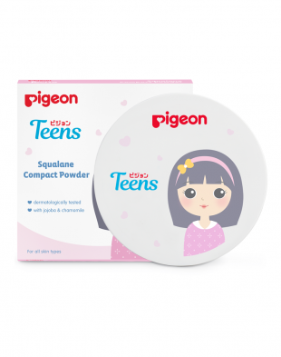 Pigeon Teens Squalane Compact Powder Beige