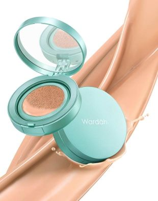 Wardah Exclusive Flawless Cover Cushion 03 Sandy Beige