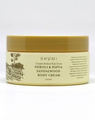 BHUMI Body Cream Neroli and Papua Sandalwood