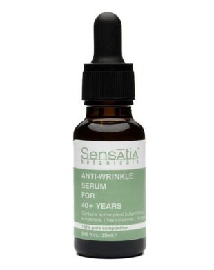 Sensatia Botanicals Anti-wrinkle Serum For 40+ Years