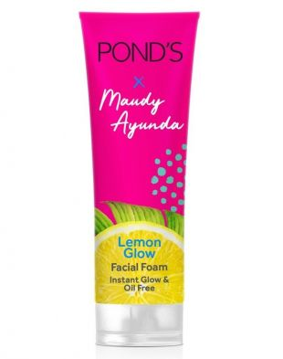 Pond's Lemon Glow Facial Foam X Maudy Ayunda