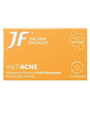 JF Sulfur Anti Acne Cleansing Bar