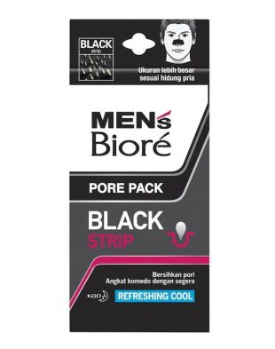 Biore Men's Pore Pack Black