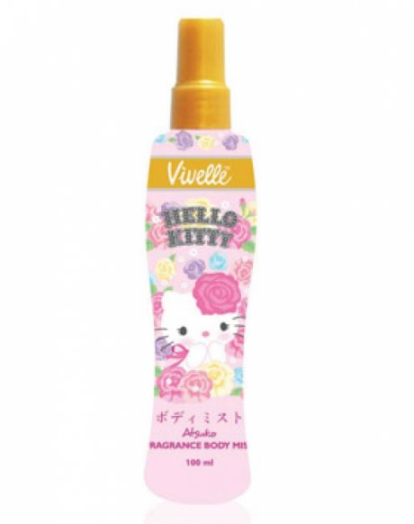Hello Kitty Fragrance Body Mist Review Female Daily
