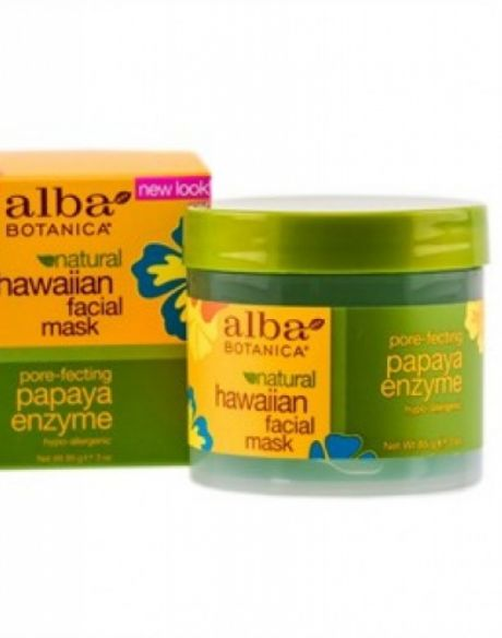 Alba Botanica Hawaiian Facial Mask Pore-fecting Papaya Enzyme