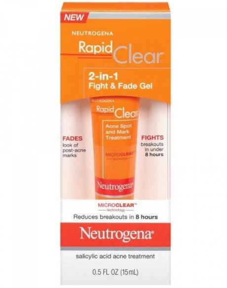 Neutrogena Rapid Clear 2-in-1 Fight and Fade Gel