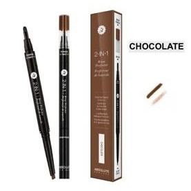 Absolute New York 2 in 1 Brow Perfecter Chocolate
