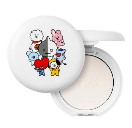 VT Cosmetics x BT21 Art in Blur Pact - Review Female Daily