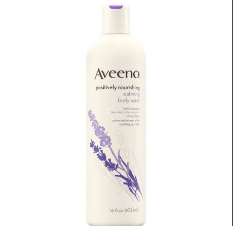 Aveeno Aveeno Positively Nourishing Calming Lavender Body Wash Lavender