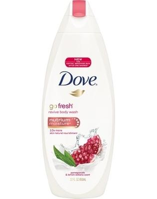 Dove Go Fresh Revive Body Wash Pomegranate and Lemon Verbena