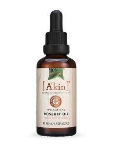 A'kin Weightless Rosehip Oil For Face and Body