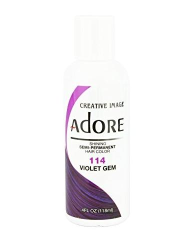 Adore by Creative Image Creative Image Semi-permanent Hair Color Violet Gem