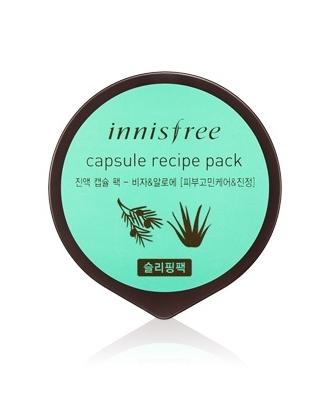 Innisfree Capsule Recipe Pack Bija & Aloe
