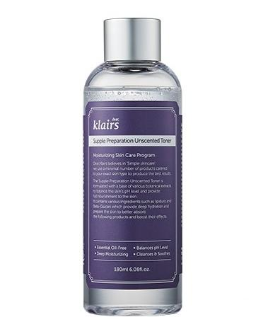Klairs Supple Preparation Unscented Facial Toner